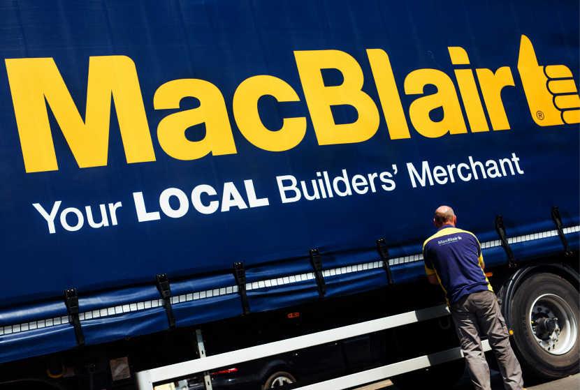 MacBlair Lorry Livery