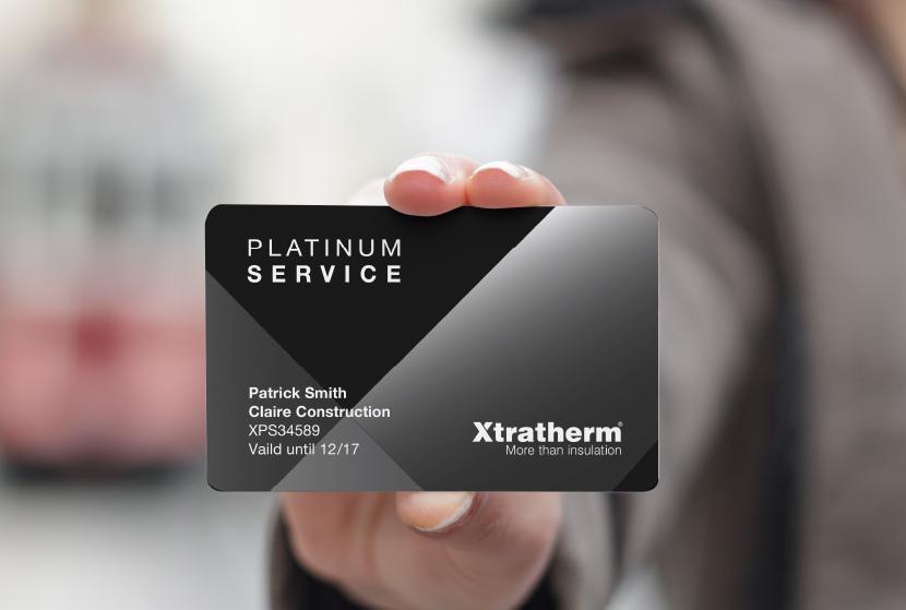 Platinum Service Card